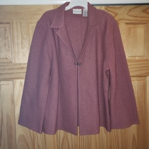 Alfred Drunner Womens 100% Wool Jacket